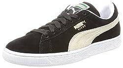 Puma Mens Suede Classic+ Black Boat Shoes - 9 UK/India (43 EU)