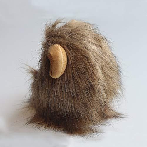 EudoER 1 Stück Löwenkostüm Löwenmähne mit Ohren für Katzen für Halloween Partys Feste Größe Passend