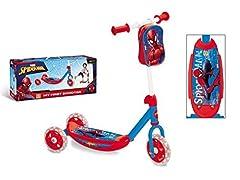 Idea Regalo - Mondo 18273 - My First Scooter Spider-Man Ultimate, Monopattino Baby, 3 Ruote
