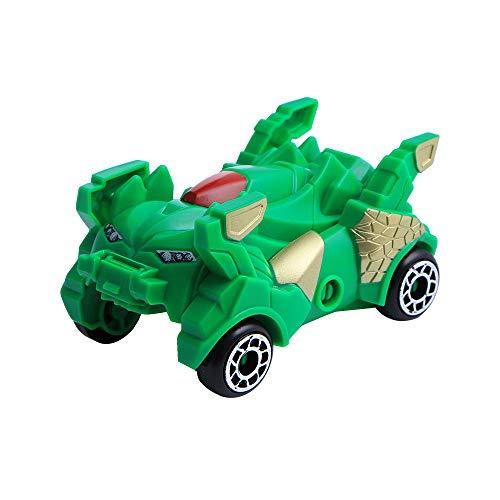 ALIKEEY Los Niños De La Transformación Creativa Mini Dinosaurios Robot Coche Modelo Deformación Clasico En Bloque Rompecabezas Inteligente Inteligentes