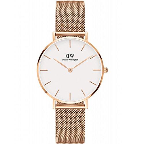 Daniel Wellington Classic Petite Melrose Reloj de Quartz oro rosá