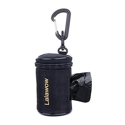 Dog Holder,Lalawow Dog Poop Bag Holder Oxford Foldable Black