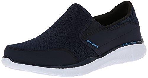 Skechers Equalizer-Persistent, Formateurs Homme Bleu (Navy)
