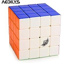 4x 4x 4Cubo Mágico Shengshou primavera blanco 4X4