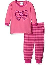 Twins Baby - Mädchen Zweiteiliger Schlafanzug Schlafanzug Schleife