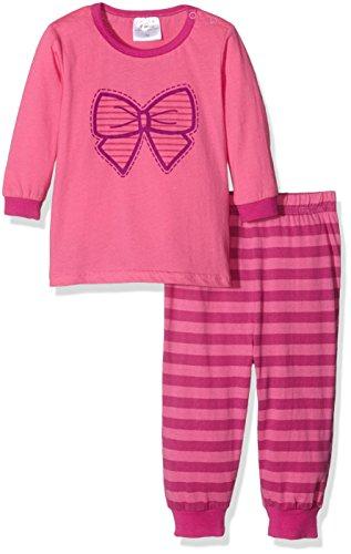 Twins Baby-Mädchen Zweiteiliger Schlafanzug Schleife, Mehrfarbig (Mehrfarbig 3200), 98