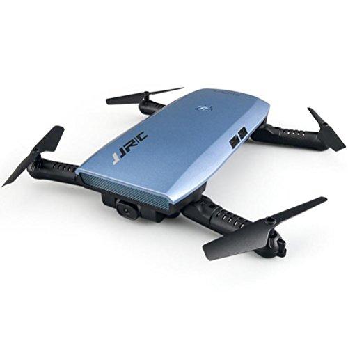 MRULIC JJRC H47 Elfie faltbar 720p HD WiFi FPV Quadcopter 360-Grad-Rotationen in Richtung (Blau) - 2