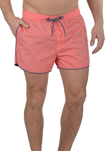 BLEND Zion - bañador para hombre, tamaño:XXL;color:Coral Red 73824
