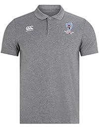 Canterbury Oficial de la Rugby World Cup 2019 Polo de algodón piqué 456187624e6e5