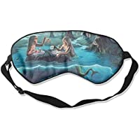 Sleep Eye Mask Mermaid Forest Lightweight Soft Blindfold Adjustable Head Strap Eyeshade Travel Eyepatch E8 preisvergleich bei billige-tabletten.eu