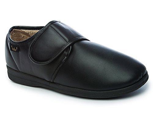 Foster Footwear ,  Jungen Herren Sneaker Low-Tops Dr Chris: Black