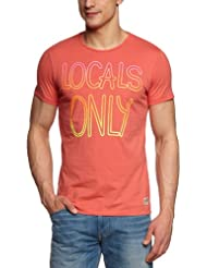 JACK & JONES Herren T-Shirt Slim Fit 12066565 Gradient
