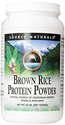Brown Rice Protein Powder, 32 oz (907 g) from Source Naturals