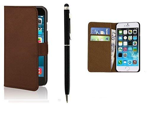 Deet® Apple iPhone 6/6s Heavy Duty Coque de protection Brown Flip