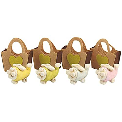 ideas regalos para comuniones kawaii Galileo Casa Sweet Bomboniere, Terracota, Multicolor, 8,5 x 9 x 3,5 cm