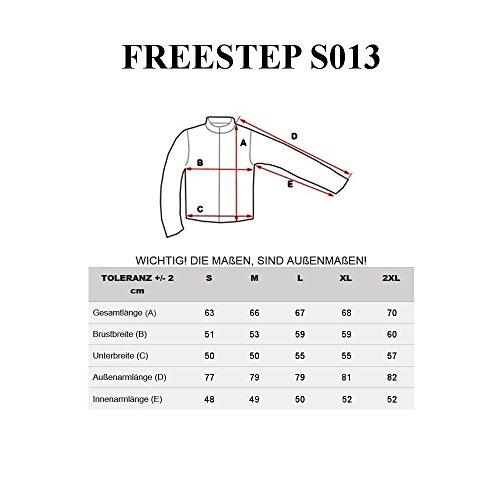 BOLF Herren Sweatjacke Steppjacke Sportjacke Übergangs Winter Mix 4D4 Kapuze Schwarz_S013