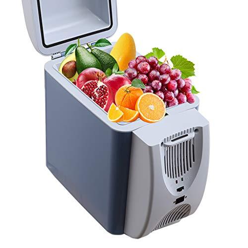 Car Refrigerator 7L Semiconductor Cooling Box Mini KüHlschrank Kosmetikkoffer Medizin Box Schlafsaal KüHlschrank - Blau