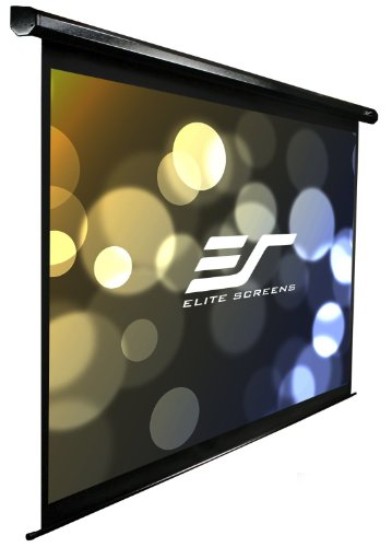 Elite Screens Electric100H Spectrum Series Leinwand (Diagonal 254 cm (100 Zoll), Höhe 124,5 cm (49 Zoll), Breite 221 cm (87 Zoll), Format 16:9) - Diagonale Elite Screens