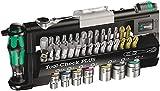 Tool-Check Plus Bit- und Steckschlüssel-Set, 39-teiliges Set, Mini-Bit, Ratsche, Schraubendreher, Griff Rapidaptor Bi