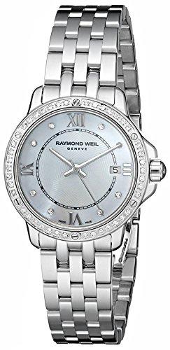 Raymond Weil 5391-STS-00995 Tango Montre suisse en argent et à quartz pour femme avec affichage analogique