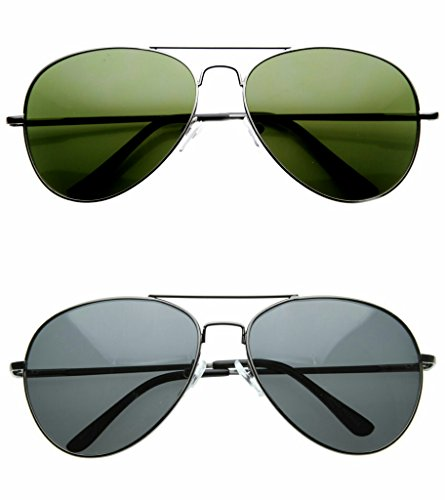 Redix special 2 in 1 combo of aviator sunglasses for mens