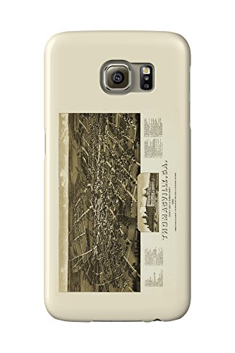 thomasville-georgia-panoramic-map-galaxy-s6-cell-phone-case-slim-barely-there