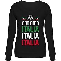 Green Turtle T-Shirts Sudadera Mujer - 2018 Apoya a la Selección Italia en el
