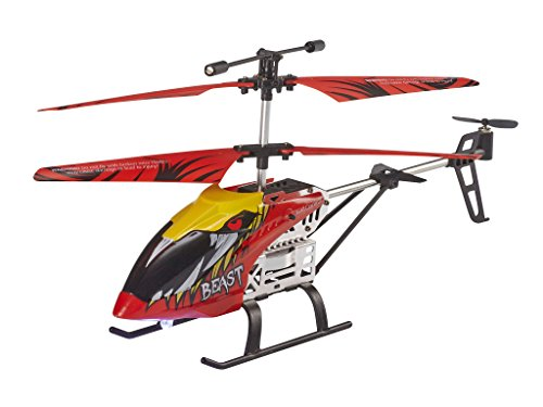 Revell Remote Control Helicopter for Beginners, 2,4 GHz Remote Control, Easy to Fly, Gyro, Stable Chassis