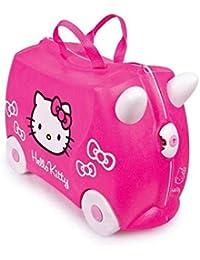 TRUNKI Ride-on - Valise a roulettes pour enfants - Hello Kitty