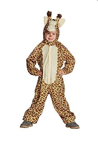 Mottoland Kinder Kostüm Giraffe aus Plüsch zu Karneval Fasching ()