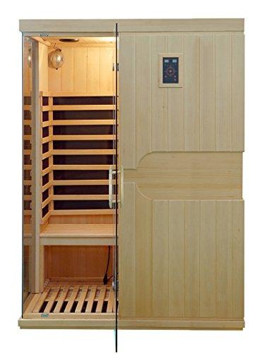 Preisvergleich Produktbild Infrarotkabine / Wärmekabine / Sauna - ECK ! für 3 Person SONDERAKTION