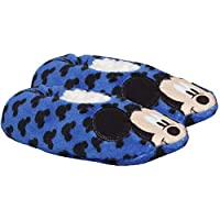Disney Mickey Mouse Boys Coral Fleece Slippers Set