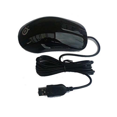 Steelseries Kana I-café Version6botones ratón Gaming PC–Mac–62032–respetuoso con el medio ambiente marrón...