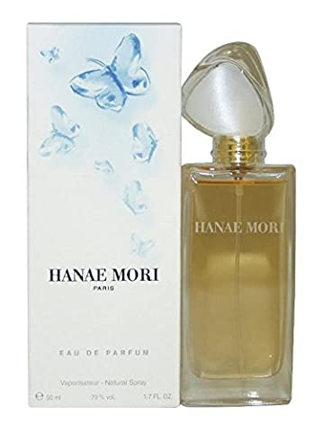 Hanae Mori Blue Butterfly Women Eau de Parfum Spray 50 ml