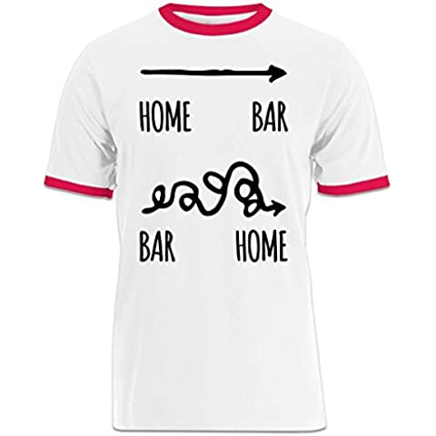Camiseta contraste Home Bar Bar Home by Shirtcity