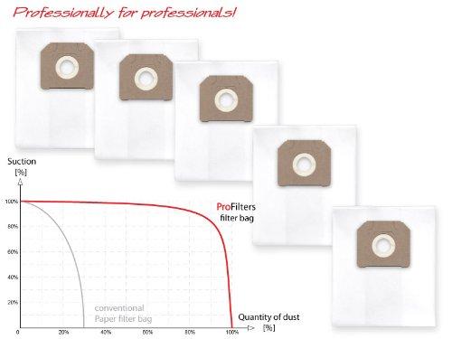 Preisvergleich Produktbild 5x Staubbeutel Filtersack für Wurth ISS 35 S