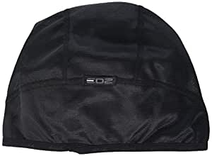 EDZ All Climate Base Layer Helmet Liner/Skull Cap - Unisex - Black