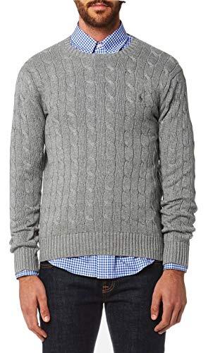 Ralph Lauren Herren Pullover Large Gr. Large, Grey Heather