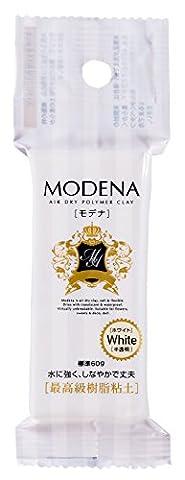 Pajiko argile de resine Modena 60g blanc 303117