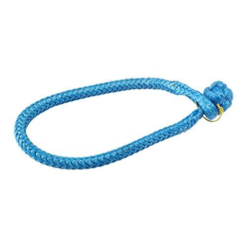 Pro-Rope 7/32 Zoll (6mm) UHMWPE Softschäkel Blaue Farbe