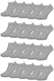 10   20   30 paar sneaker sokken dames en heren zwart wit grijs katoen - sockenkauf24