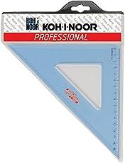 Koh-I-Noor V0750 Squadra, Linea Professional in Plexiglass, 45°, 36 cm