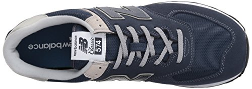 New Balance Ml574v2, Baskets Homme Bleu