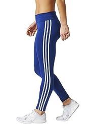 adidas D2M 3S Mallas y Bodies, Mujer, Azul / Blanco (Tinmis), XL