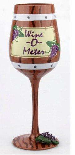 Top Shelf wine-o-meter bicchiere di vino–contiene 440ml