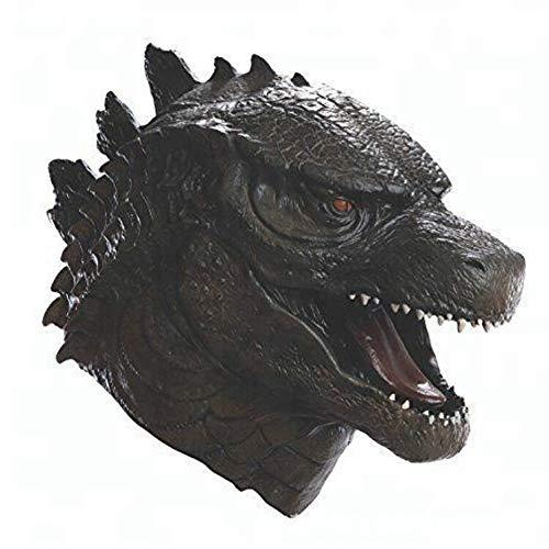 Godzilla Maske - Sdhs-mask Halloween-Maske, Horrormaske, Latexmaskenhaube, Gruselige Halloween-Maske,