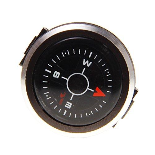 ndern Reisen Navigation Aluminiumlegierung Streifen Gürtel Uhrenarmband Kompass ()