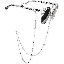 Amazon.es: cordones gafas de sol - Plateado