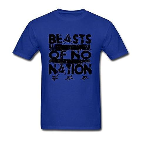 UKCBD - T-shirt - Homme - Bleu - X-Large