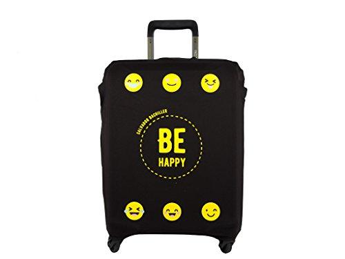 Salvador Bachiller - Funda De Maleta Universal Be Happy Compl Viaj Lg1702 Negro M